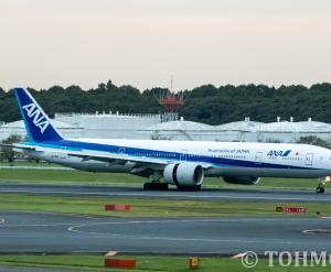 JA780Aが離日。