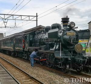 鹿児島本線特別運行の「SL人吉」に乗ってみた