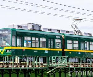 筑鉄3002号「阪堺」カラーを捕捉