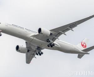 JALのA359・JA10XJをようやく