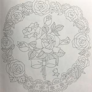 花の国より バラのリースと花束