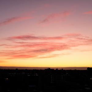 今朝の空色