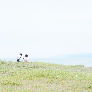 久しぶりの石狩浜