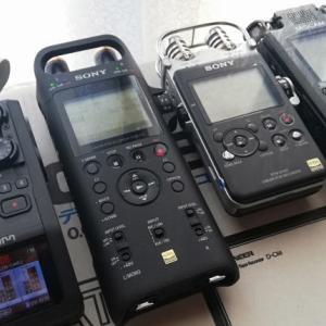 バイノーラル/フィールドレコーディングの機材-その3;ポータブルレコーダー