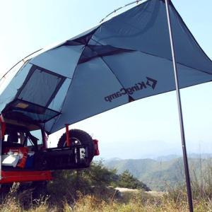 キャンプや車中泊であると便利なカーサイドタープのおすすめ5選