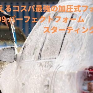 洗車で使えるコスパ最強の加圧式フォームガン『ソフト99 パーフェクトフォーム スターティングセット』