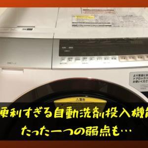 洗剤自動投入機能付きドラム式洗濯機の知られざる弱点