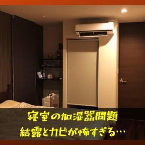 寝室加湿器始めました!おすすめの加湿方式・置き場所を解説。