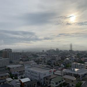 おはようございます。今朝の岡崎。 今日も行ってみよう! 2020-07-05