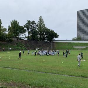 雨のグランド #岡崎ラグビースクール 2020-09-21