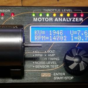 モーターと進角と指数と!