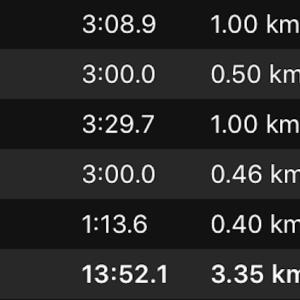 1000m×2+400m(NB HANZO R V2)