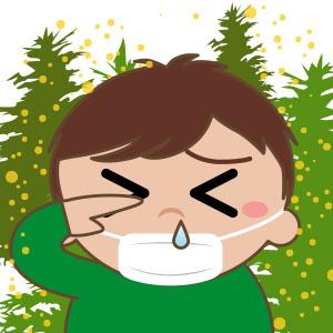 花粉症対策 つきやすい素材