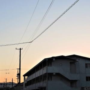 夕方、三津半周散歩。5233歩。