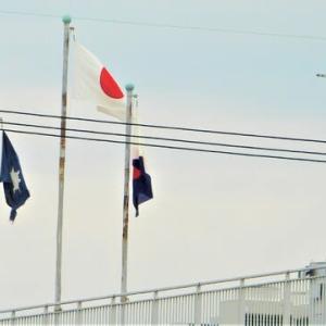 広報まつやま市長賞万歳!夕方、大可賀公園~松江橋~海岸散歩。4526歩。