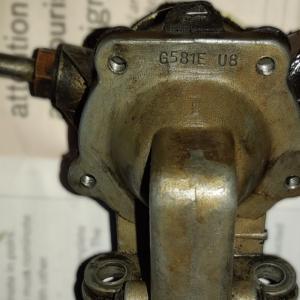 GOSS G581E 機械式燃料ポンプのOH備忘録