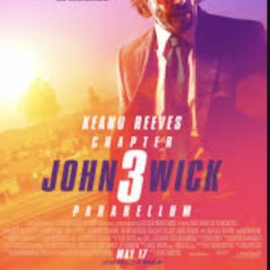 ジョン・ウィック3パラベラム:アメリカン航空機内上映での感想
