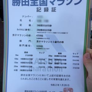 【完走!】勝田全国マラソン