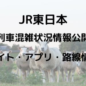 JR東日本|列車混雑状況がわかるサイトとアプリ!対象路線と6段階表示とは