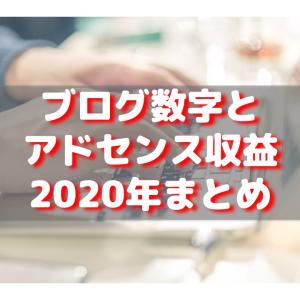 【2020年まとめ】ブログの各種数値とアドセンス収益公開