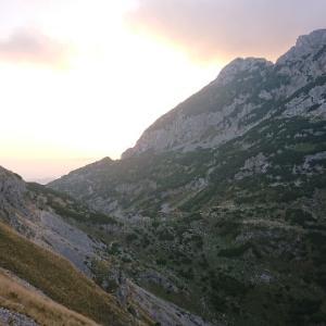 山登り@ドゥルミトル国立公園
