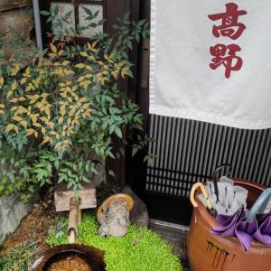 八尾(yatsuo)のお蕎麦屋さん高野
