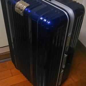 スーツケースで問題