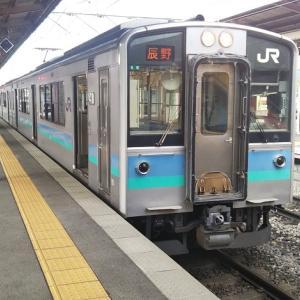 中央本線辰野支線のE217系