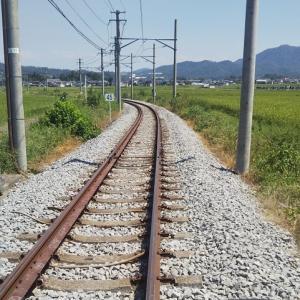 駅間歩きで中塩田駅へ