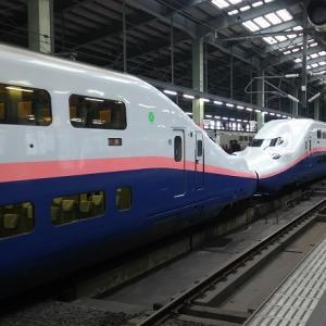 上越新幹線 E4系MAXと6列ベンチシート