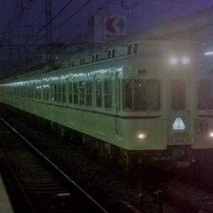 昭和59年(1984年)京王線のダイヤ起こし