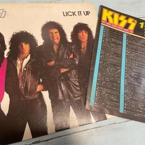 地獄の回想 (Lick It Up) / KISS 1983