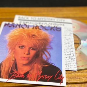 1983年 『ミステリー・シティ』Back to Mystery City ハノイ・ロックス(Hanoi Rocks)