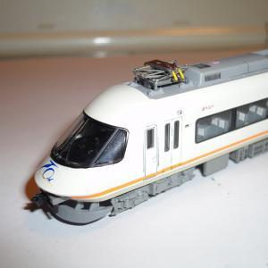 【TOMIX】近鉄21000系(UL02.UB03) 全席指定インレタを貼り付け