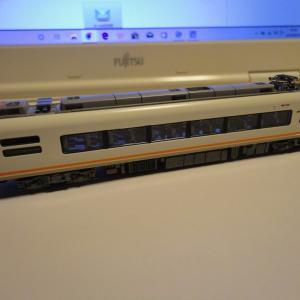 【TOMIX】近鉄21000系(UL02.UB03)の床下機器に色入れ