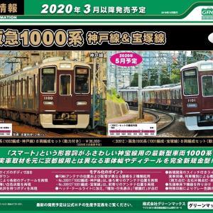 【グリーンマックス】阪急1000系のCAD図が公開