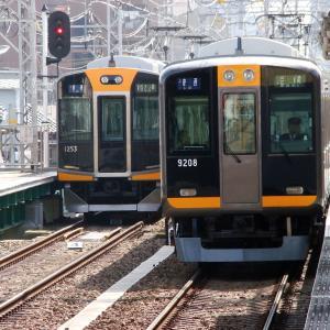 阪神1000系 1203Fと阪神9000系 9207F