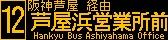 阪急バス再現LED表示 【その70】