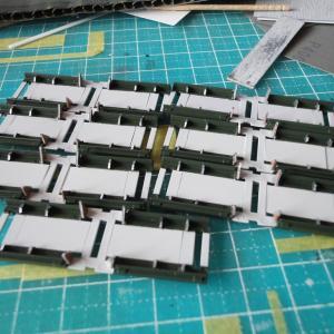 【鉄道模型】阪急1000系1001F ディテールアップ作業 《その8》