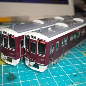 【鉄道模型】阪急1000系1001F ディテールアップ作業 《その17》