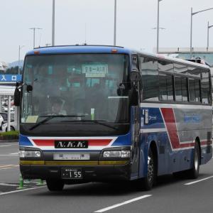 南国交通 155号車(エアポートシャトル)