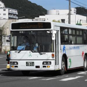 鹿児島交通(元阪急バス) 1911号車
