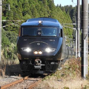"【JR九州】787系 BM363 ""36ぷらす3"" 送り込み回送(列車番号不明)"