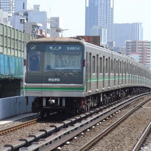 大阪市営地下鉄(大阪メトロ)24系 04F(高速化改造前)
