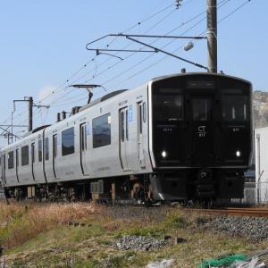 【JR九州】817系 Vk014 普通国分(6936M)
