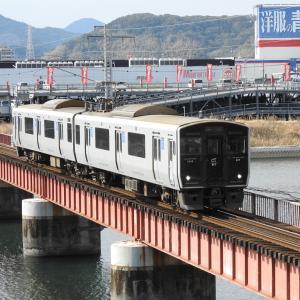【JR九州】817系 Vk010 普通国分(6938M)
