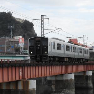 【JR九州】817系 Vk002 普通鹿児島中央ゆき(6937M)