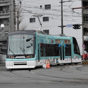 鹿児島市電7000形 7004号車(ストラスブール号)