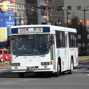 鹿児島交通(元国際興業バス) 927号車