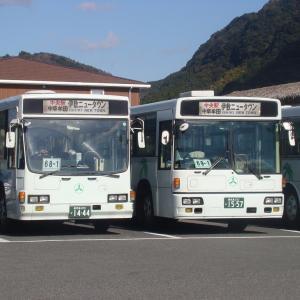 鹿児島交通 1557号車&1444号車 《元阪急バス》